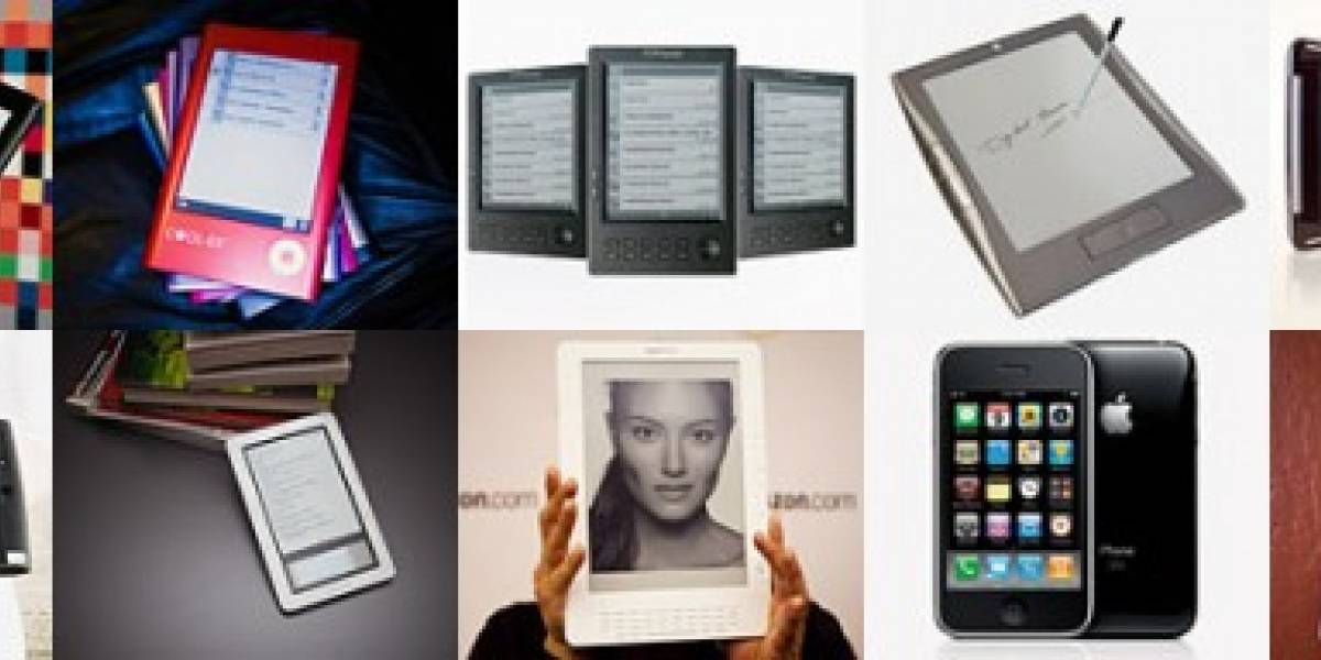 Roundup de 10 E-Readers y Tablets