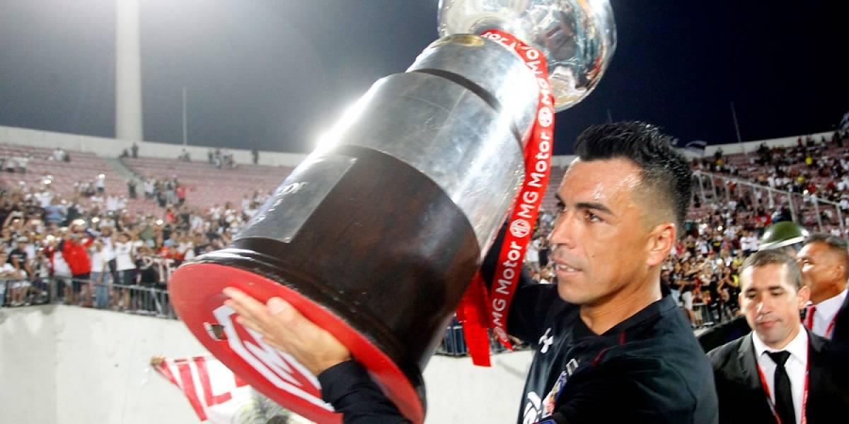 La molestia de Esteban Paredes en los festejos de la Supercopa que terminó en reconciliación