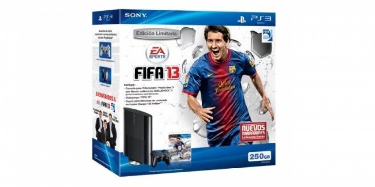 Sony le pone fecha al paquete de PS3 con FIFA 13