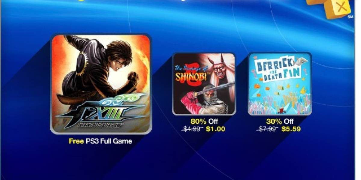 King of Fighters XIII gratis para los miembros de PlayStation Plus