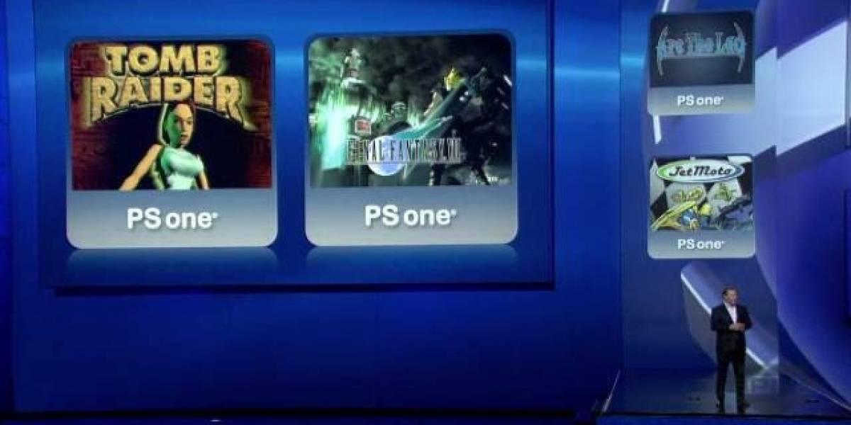 E3 2012: PS Vita contará con títulos de PSOne Classics