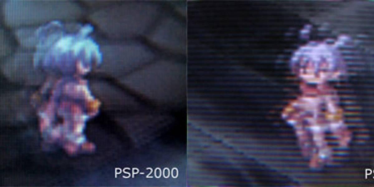 La nueva PSP con problemas de Pantalla