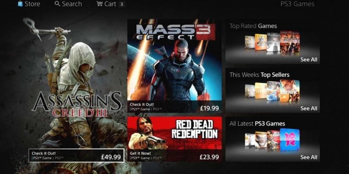 Fracasa debut de la nueva interfaz de PlayStation Store en Europa