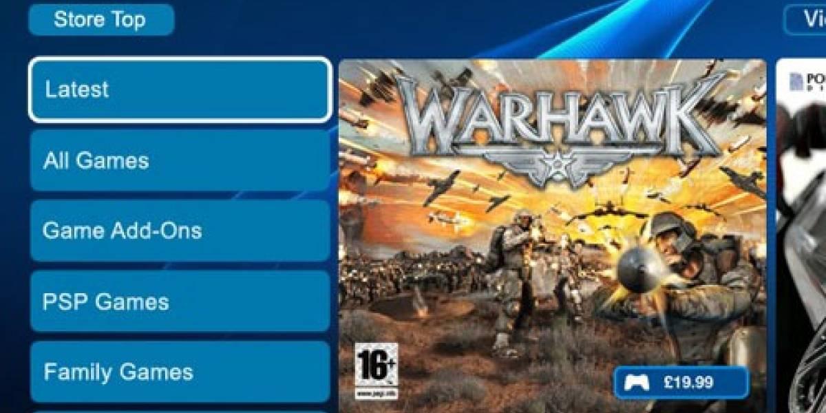 Me quieren actualizar la PlayStation Store...