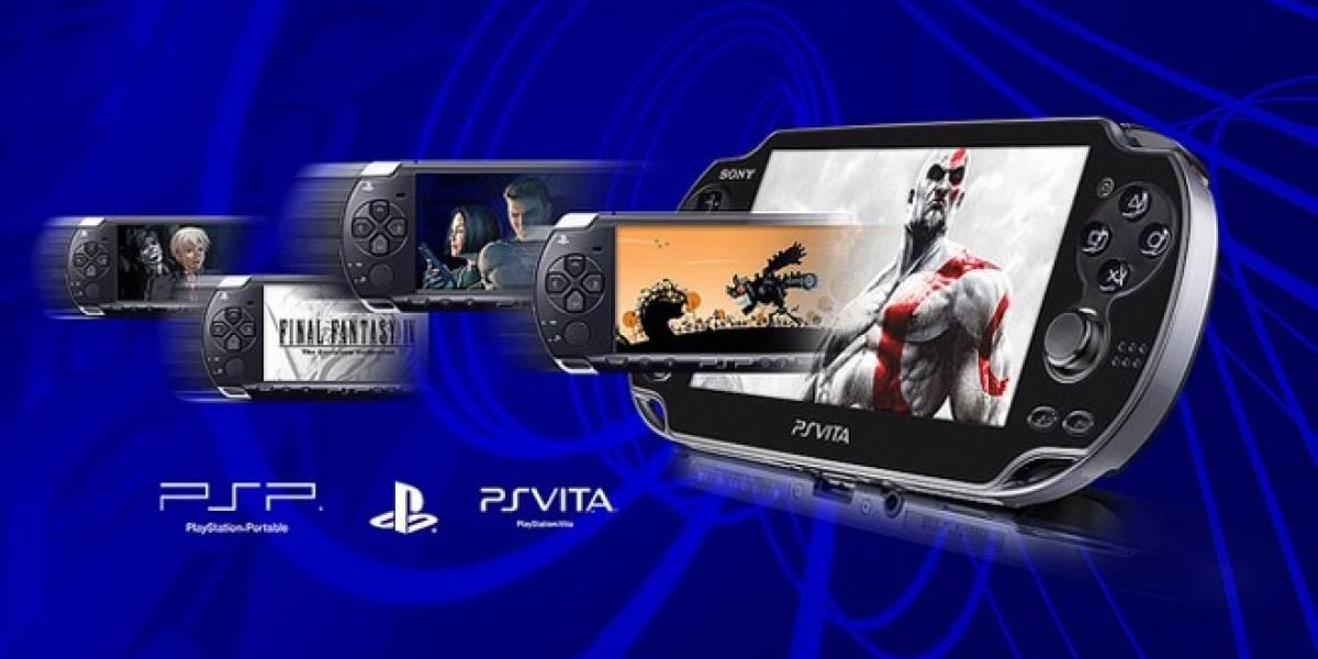 PS Vita recibe muchísimos juegos PSP y PSP minis