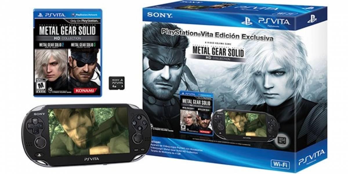 Sony anuncia un nuevo PS Vita edición Metal Gear Solid HD Collection