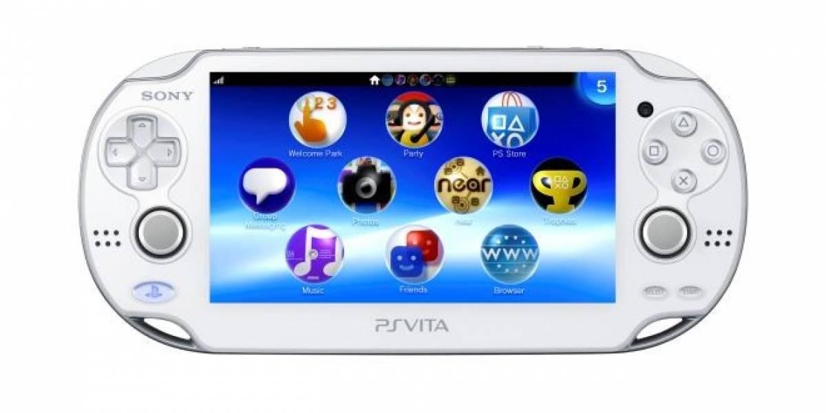 La PS Vita recupera algo de terreno en Japón gracias a su edición Crystal White