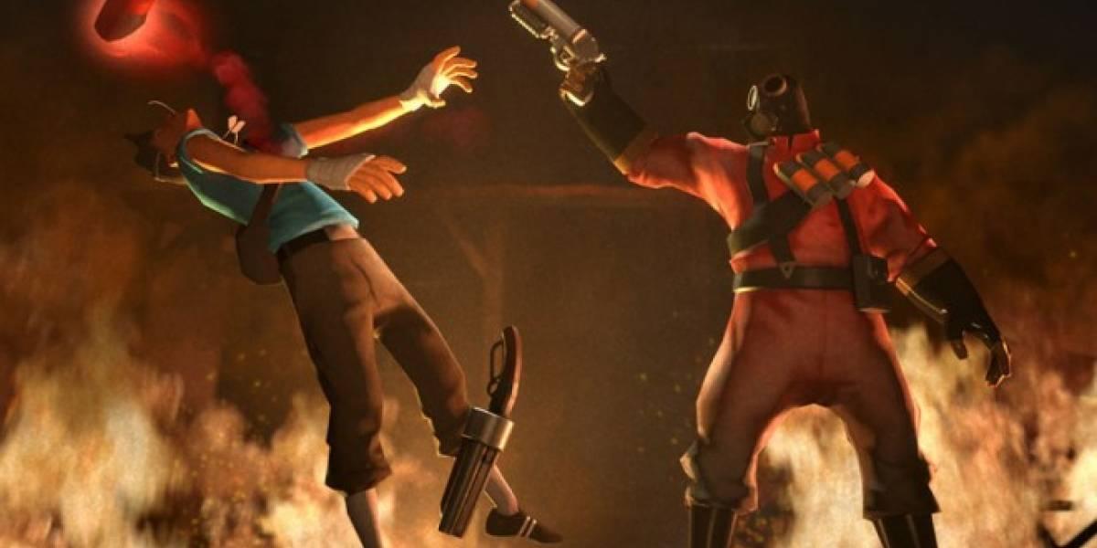 Conoce al pirómano en el nuevo video de Team Fortress 2