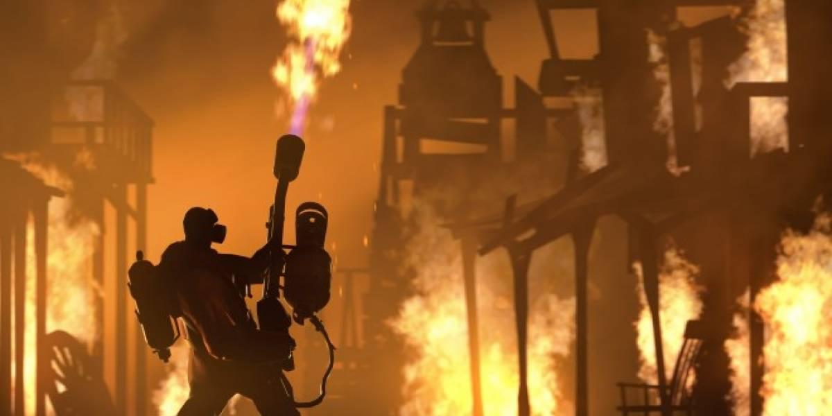 Valve anuncia Piromanía, tres días de contenido para Team Fortress 2 y una sorpresa