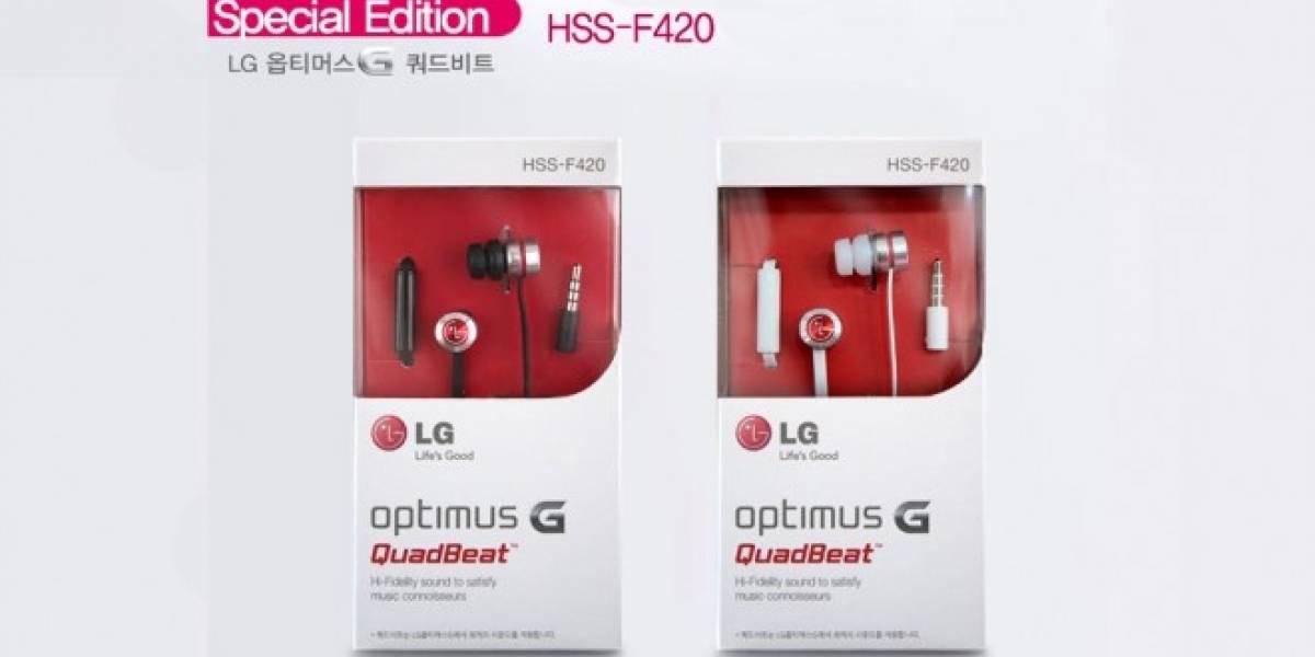LG G2 viene con nuevos y mejorados audífonos Quadbeat 2
