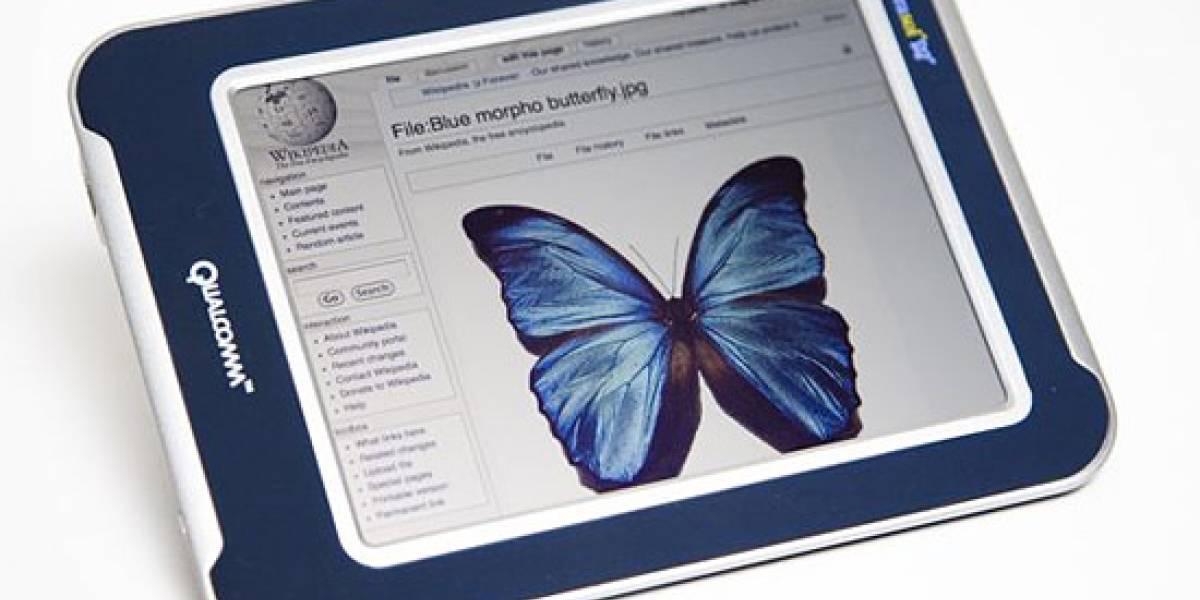 Qualcomm presenta una tecnología para libros electrónicos a colores