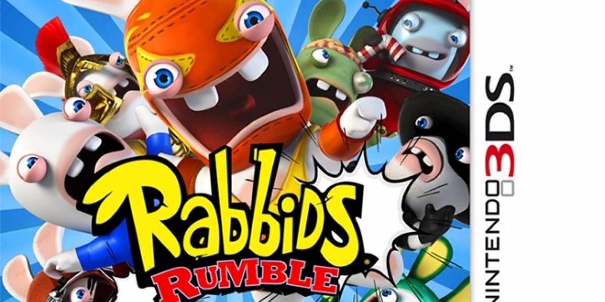 Rabbids Rumble llegará a la Nintendo 3DS en otoño de 2012