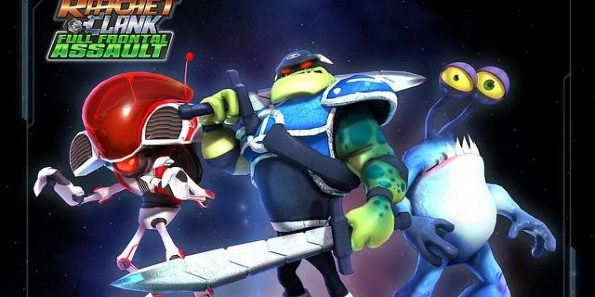 Ratchet and Clank: Full Frontal Assault aparecerá en 2013 para PS Vita