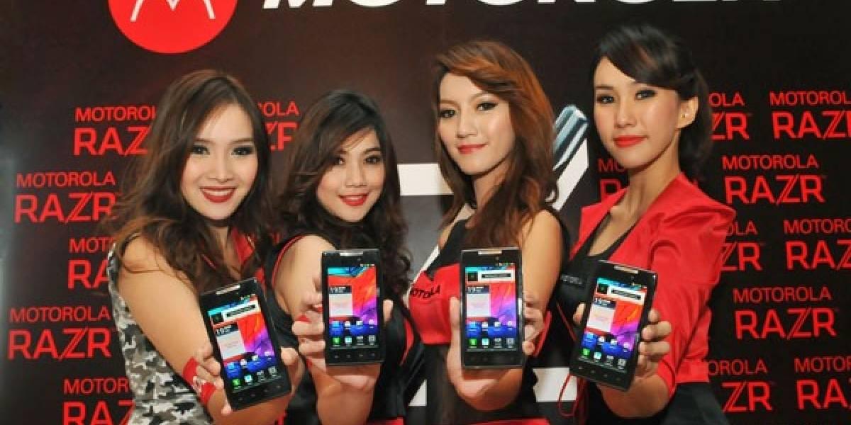 Motorola actualiza toda la familia RAZR a Android 4.1 Jelly Bean en Argentina