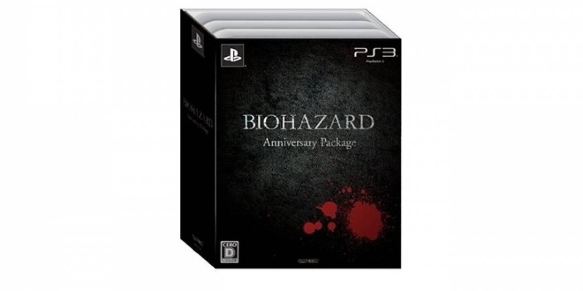 Capcom anuncia el Resident Evil Anniversary Package, una colección exclusiva para Japón