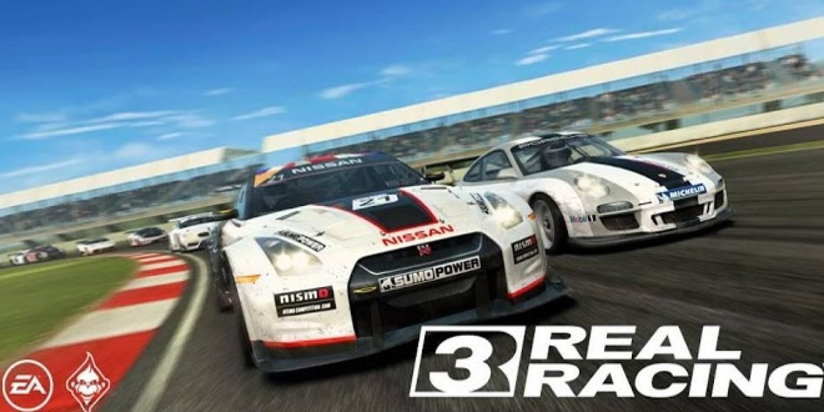 Real Racing 3 recibirá una importante actualización
