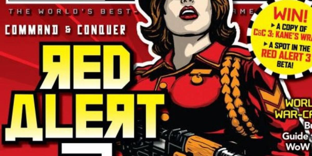Red Alert 3 se viene, sólo se sabe que se viene...