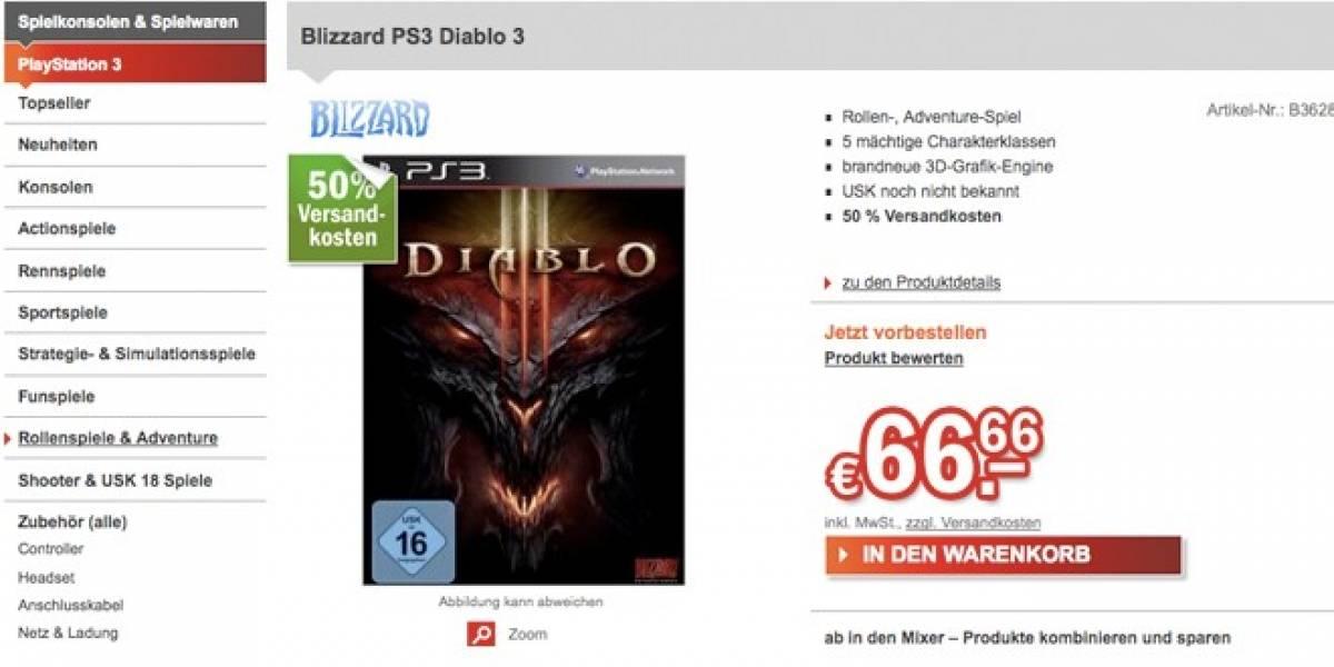E3 2012: Diablo III podría ser anunciado para PS3