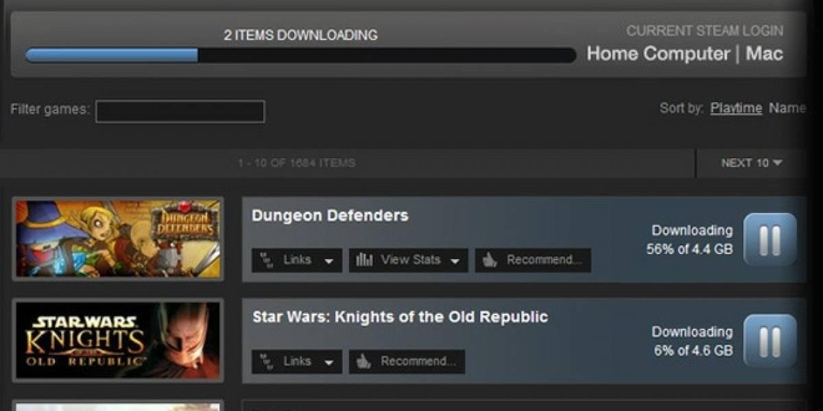 Ahora sí, descarga juegos en Steam desde la web