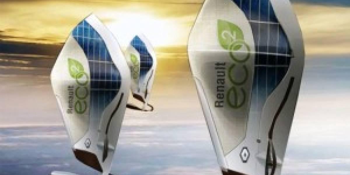 Renault diseñó innovador dirigible-windsurf eléctrico