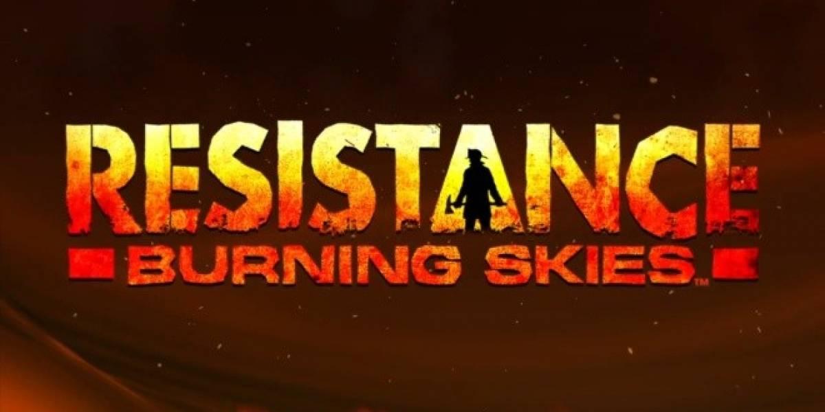 Concurso: Niubie y Sony México te regalan Resistance Burning Skies