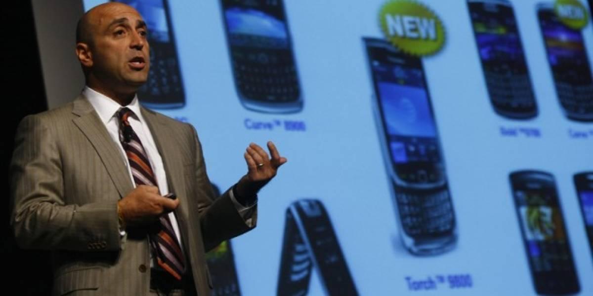 BlackBerry pierde a más altos ejecutivos