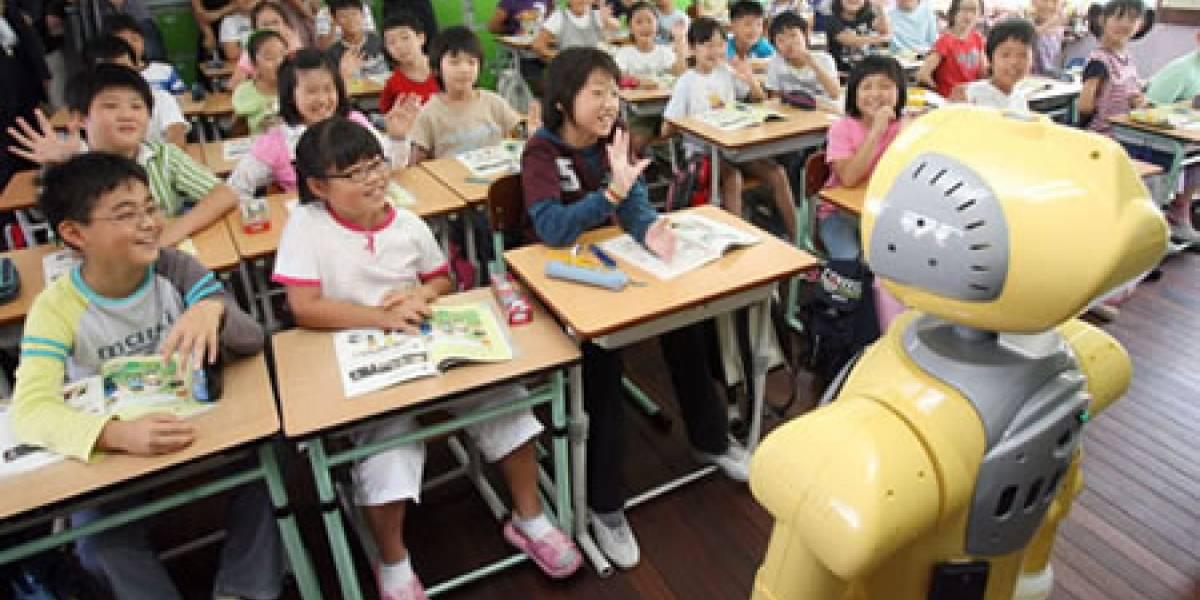 Corea del Sur implementará robots en las salas de clase