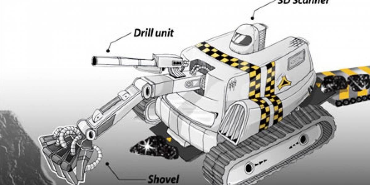 Robots se encargarán de labores riesgosas minando carbón