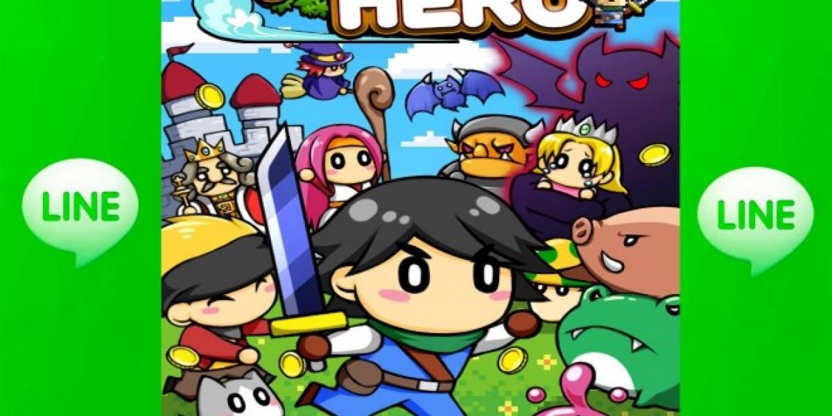 LINE lanza el juego RunRun Hero