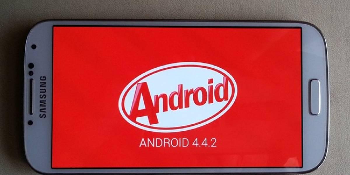 La barra de estado TouchWiz en equipos Samsung mantendrá colores de Android KitKat