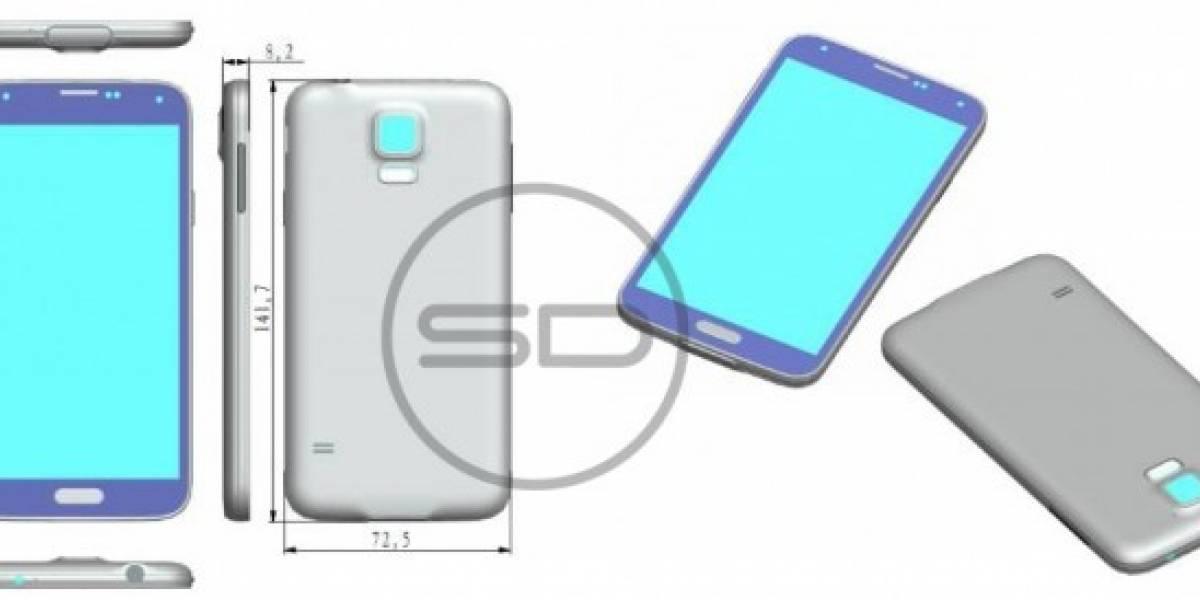 ¿Es este el diseño del Samsung Galaxy S5?