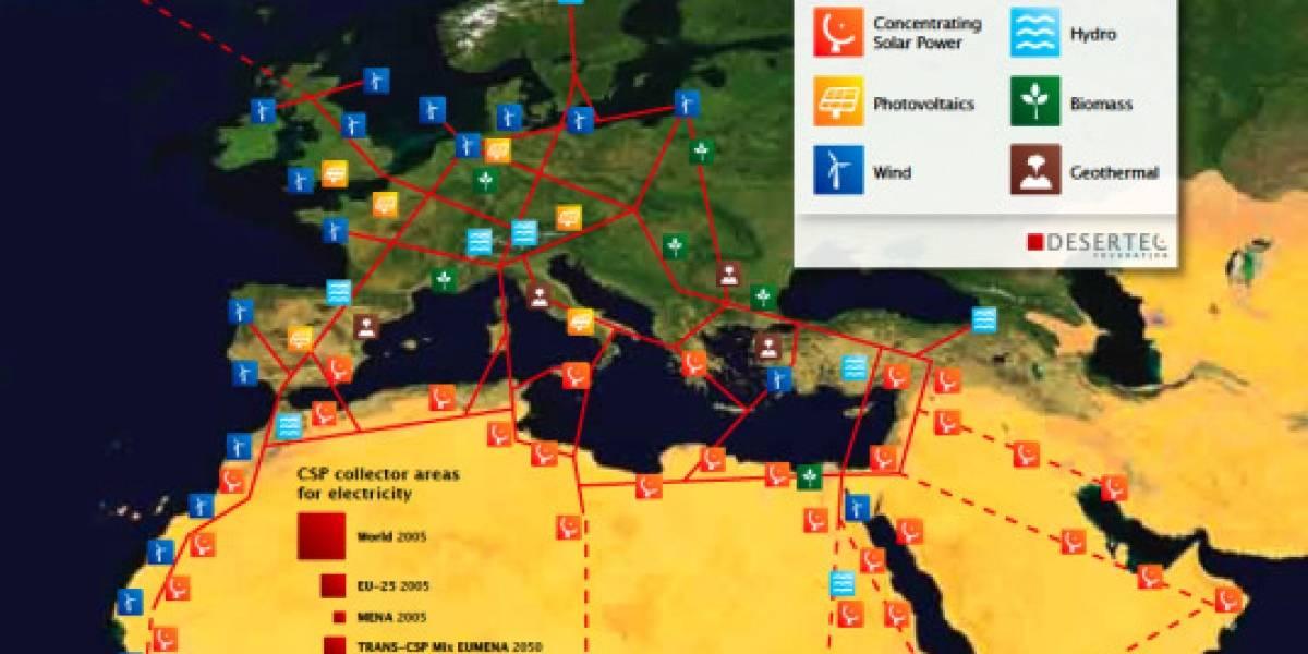 Futurología: El Sahara energizará buena parte de Europa