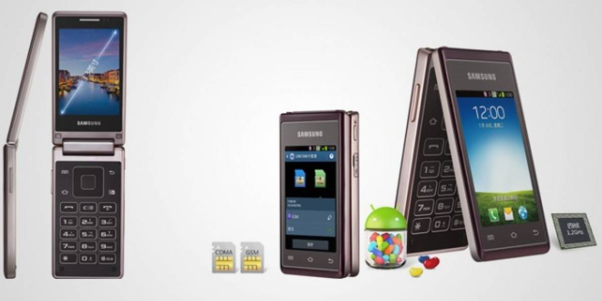 Samsung lanza su esperado smartphone clamshell con dos pantallas táctiles