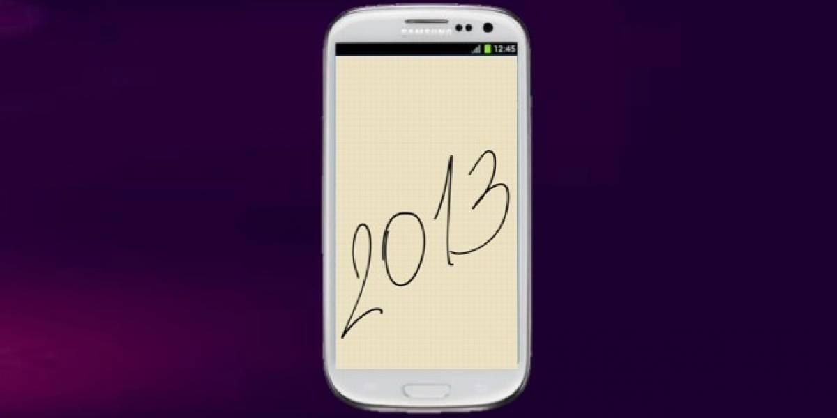 Samsung vendería más de 500 millones de móviles en 2013