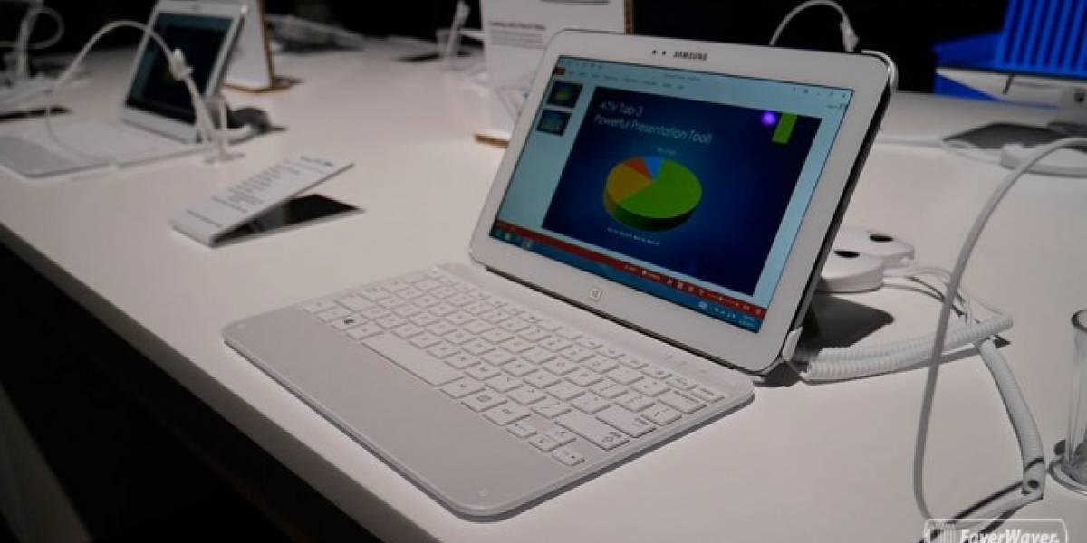 Samsung anuncia el ATIV Tab 3 con Windows 8