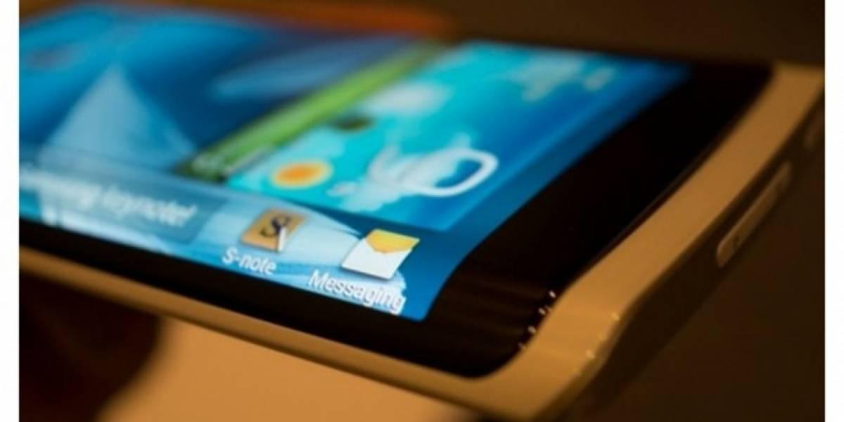 Samsung lanzará un smartphone con pantalla curvada este año