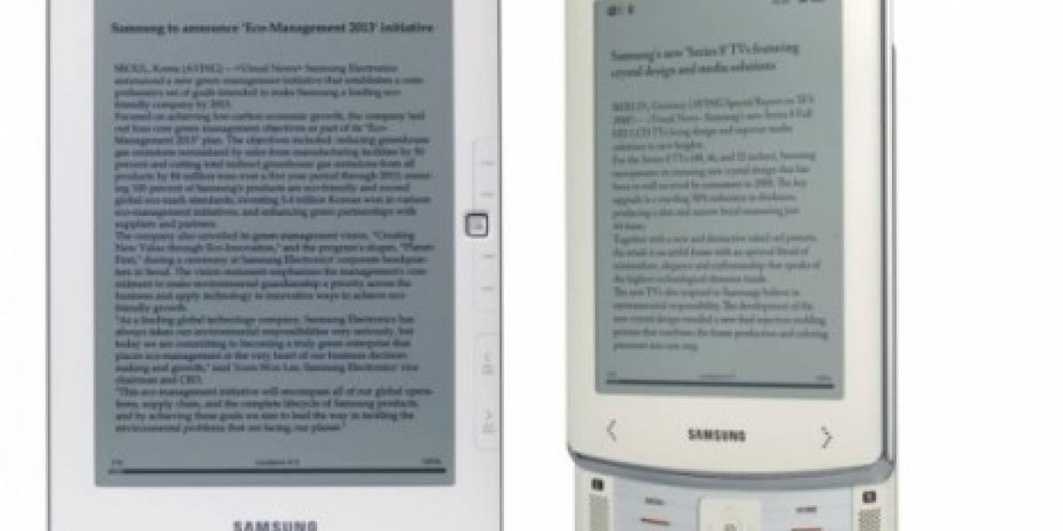 CES 2010: Samsung presenta lector de eBooks