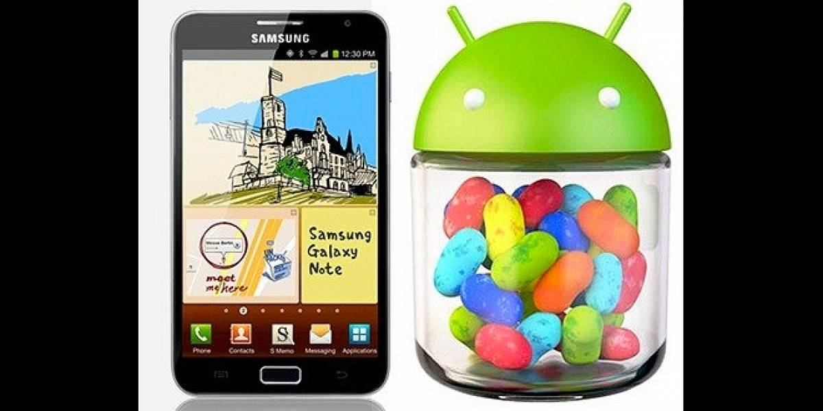 Actualiza tu Samsung Galaxy Note GT-N7000 a Android 4.1.2 Jelly Bean [W Tip]