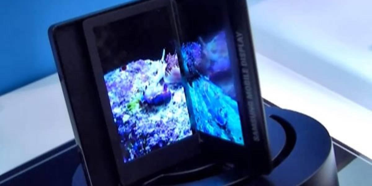 El Samsung Galaxy Q podría ser un equipo con doble pantalla