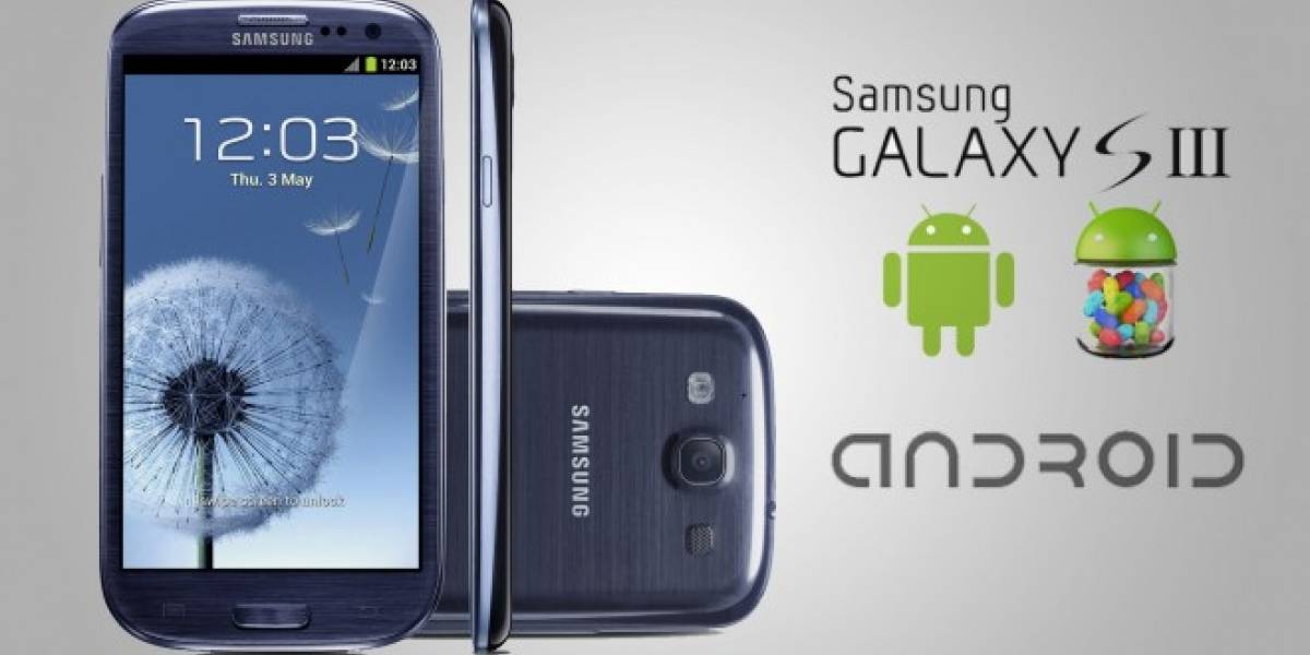 Android 4.3 Jelly Bean llega oficialmente al Samsung Galaxy S3