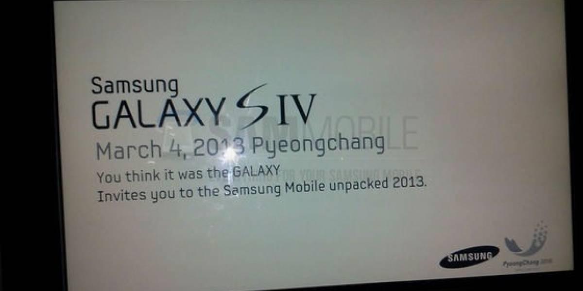 Futurología: Galaxy S4 saldría el 4 de marzo