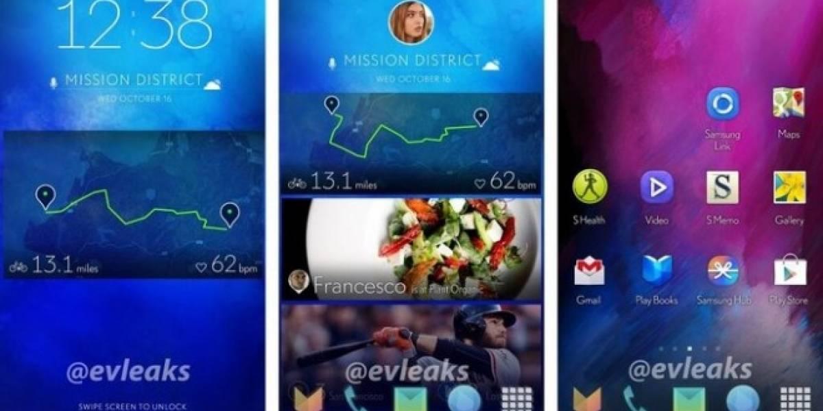 Samsung estaría probando una nueva interfaz para sus smartphones con Android