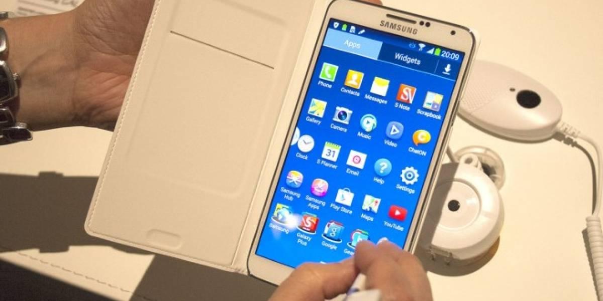 Samsung infla en 20% los benchmarks del Note 3