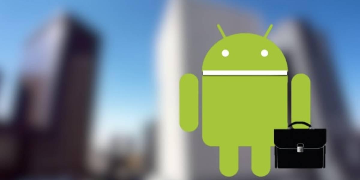 Android para empresas, paso al frente junto a iOS y BlackBerry