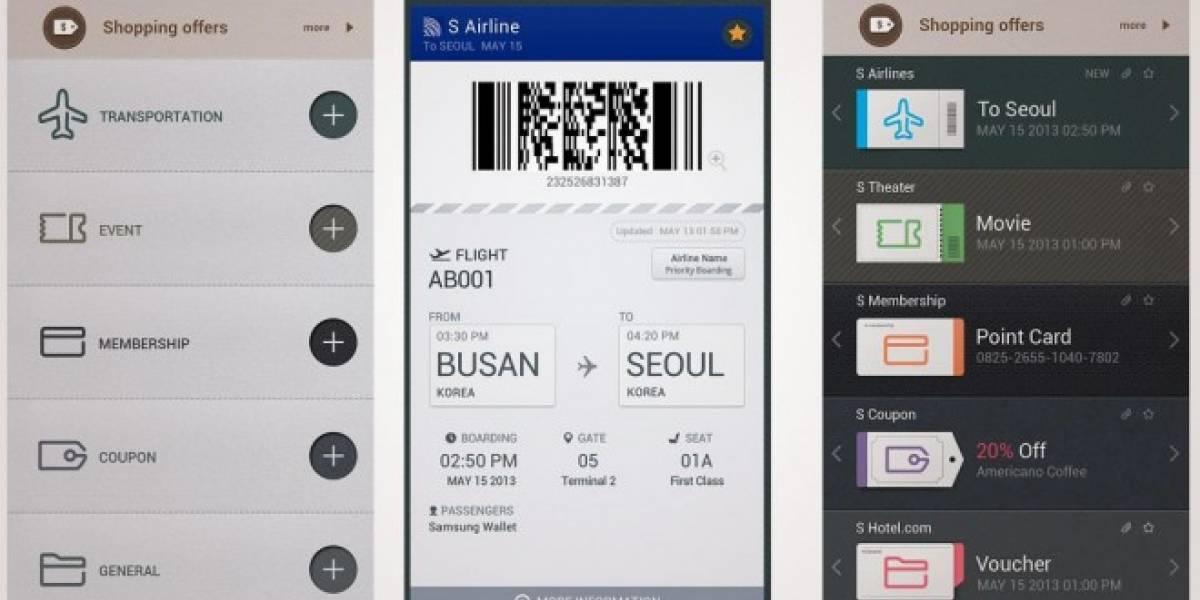 Samsung Wallet, un gestor de boletos y cupones para tu Galaxy