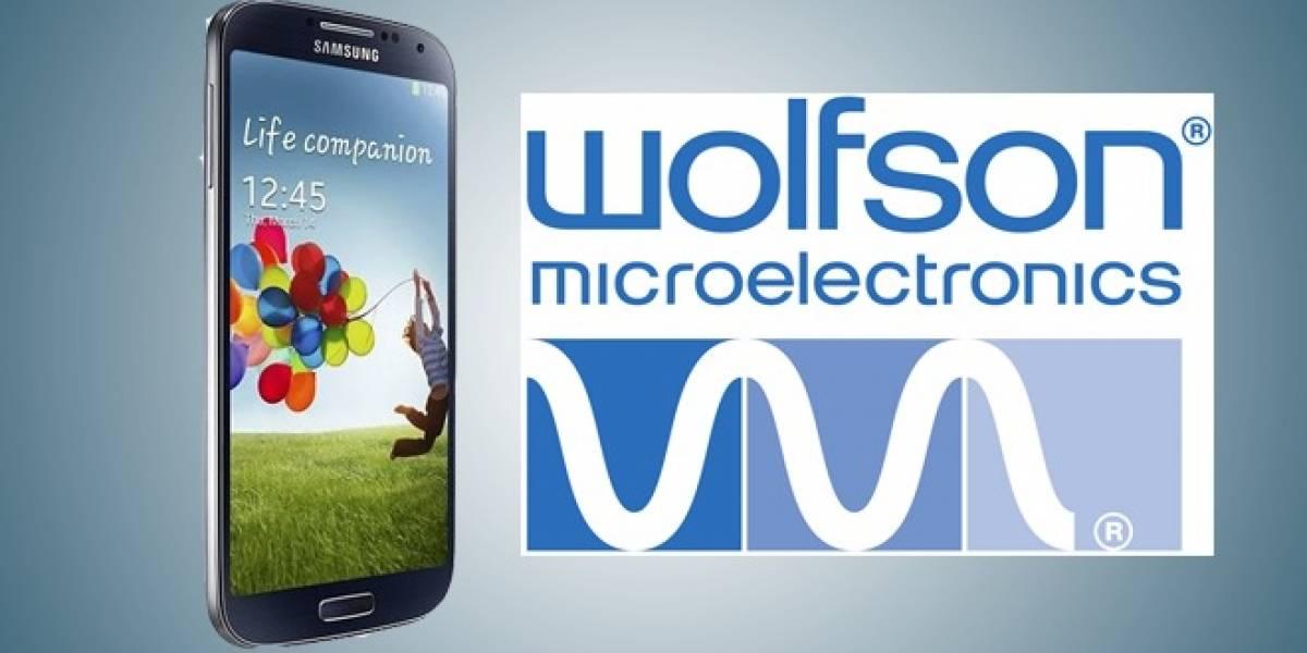 Samsung usará tecnología de audio Wolfson para su línea de equipos Galaxy