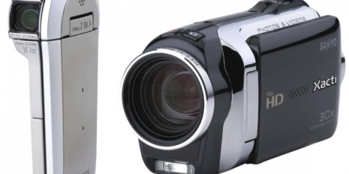 CES10: Sanyo introduce dos nuevas cámaras Xacti