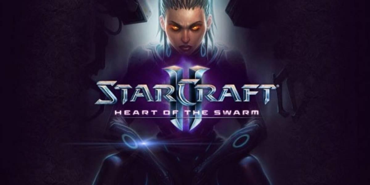 StarCraft II: Heart of the Swarm llegará hasta el 2013