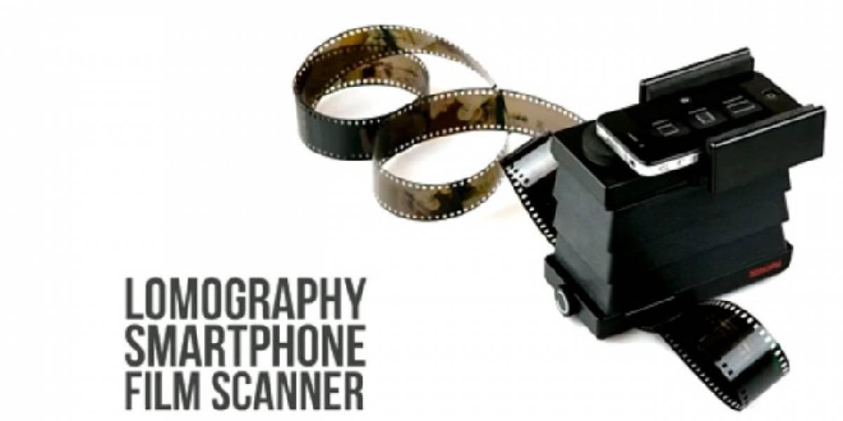 El Lomography Smartphone Scanner viene al rescate de tus recuerdos en 35mm