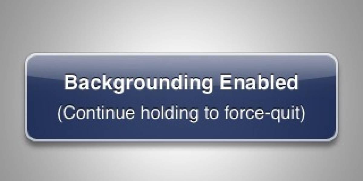 iPhone Backgrounder: Aplicaciones en segundo plano